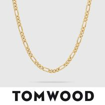 【TomWood】Figaro Chain Thick Gold