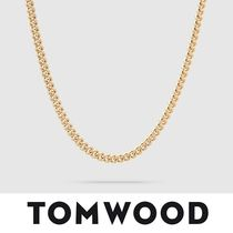 【TomWood】Rounded Curb Chain Thin Gold