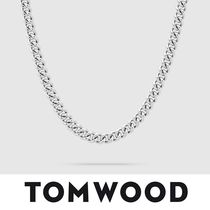 【TomWood】Rounded Curb Chain Thick