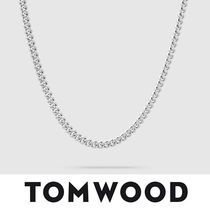 【TomWood】Rounded Curb Chain Thin