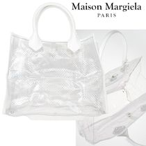 国内発送◆MAISON MARGIELA◆LEATHER INSERT SHOPPING BAG