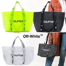 OFF-WHITE◆Small commercial トートバッグ