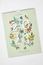 セール☆Rifle Paper Co. Floral 2021 Appointment Calendar