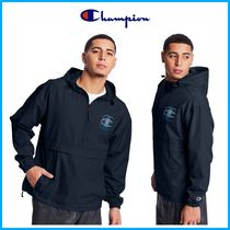 2021Cruise新作!! ★CHAMPION★ Packable Jacket, Linear C Logo