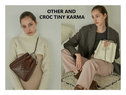 ★ATHER AND★CROC TINY KARMA_2way bag / チェーン選択可 /