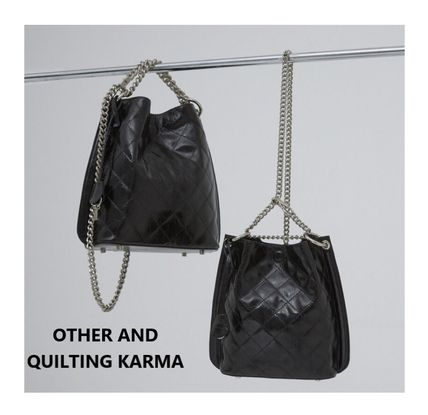 ATHER AND★QUILTING KARMA_2way bag / チェーン選択可 / 2color