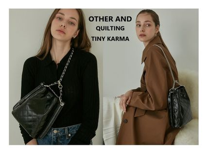 ★ATHER AND★QUILTING TINY KARMA_2way bag / チェーン選択可