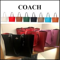 【COACH】MOLLIE TOTE モリー レザー トートバッグ