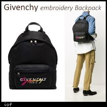 Givenchy embroidery Backpack ジバンシィ ナイロンバックパック