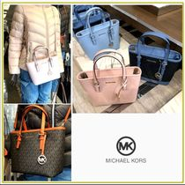 Michael Kors☆JET SET TRAVEL XS CRYL CONV TZ TOTE 2WAY☆送込