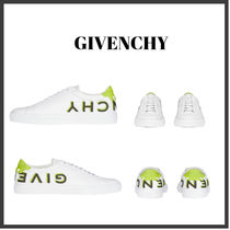 ★GIVENCHY★ PVC REVERSE SNEAKERS IN LEATHER