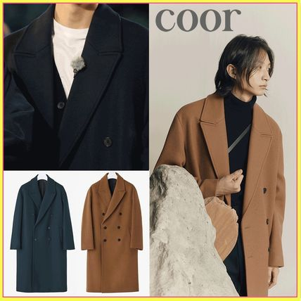 coor☆SEVENTEEN ジョンハン着用☆MTR overfit double long coat