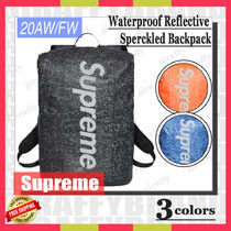 【20AW/FW】SUPREME Waterproof Reflective Speckled Backpack