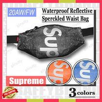 【20AW】SUPREME Waterproof Reflective Speckled Waist Bag