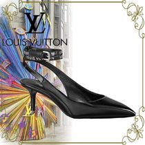 【LOUIS VUITTON 海外限定】 Call Back Open Back rogo Pump