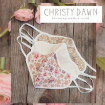 Christy Dawn*The Sustainable Mask In Adult Sage Florals 3P