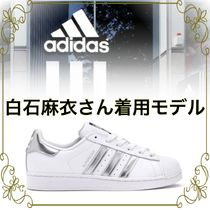 【adidas 白石麻衣さん着用】Superstar White Silver Metallic