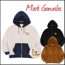 ★人気ブランド★【MARK GONZALES】ANGEL BOA HOOD ZIP-UP / 3色