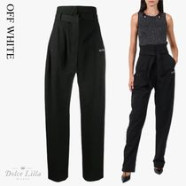 OFF WHITE Black trousers