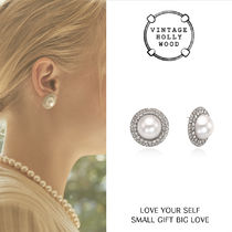 VINTAGE HOLLYWOOD★Grace Pearl Post Earring/ピアス