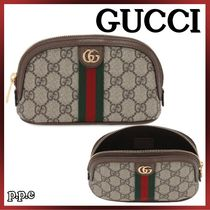 GUCCI☆OPHIDIA GG SUPREME メイクアップポーチ