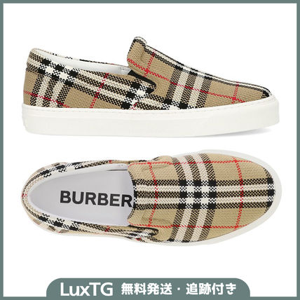 ☆Burberry☆Check Sneakers☆バーバリースニーカー☆