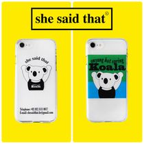 【she said that】Koala iPhone Case/i Phoneケース 追跡送料込