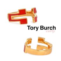 【Tory Burch】ロゴリング 送料・関税込み