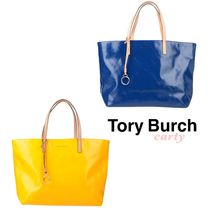 【Tory Burch】トートバッグ ブルー/イエロー 送料・関税込み