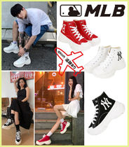 【MLB】Chunky high sneakers(23~29CM)★安全発送