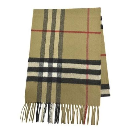 BURBERRY GIANT CHK カシミヤマフラー BE A7026  8018173