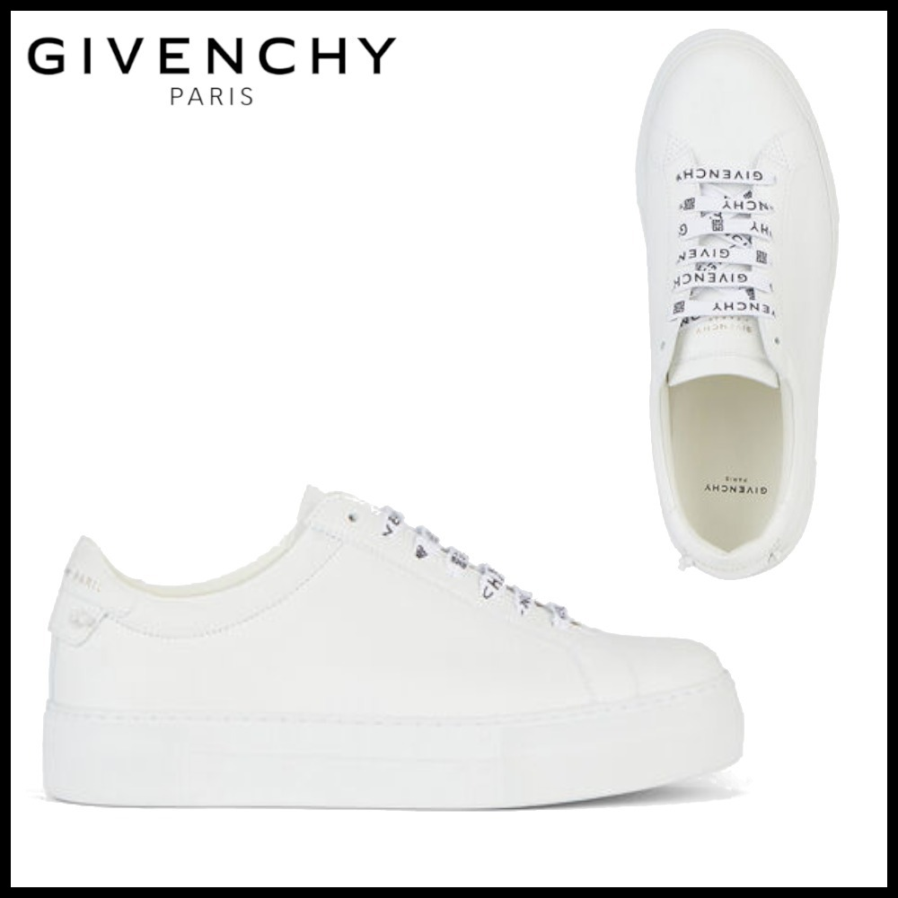 20-21AW GIVENCHY レザー シューレース (GIVENCHY/スニーカー) BE001HE0X0-100