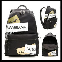 ※Dolce&Gabbana※NYLON LOGO TAPE BACKPACK【関税送料込】