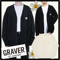 ☆送料・関税込☆GRAVER★FLOWER DOT STITCH KNIT CARDIGA.N★