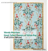 ガーデン*ANTHROPOLOGIE Flowers of Virtue Rug152 cm x 244 cm