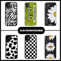 【ACHROHOUSE】iPhone ケース (12/12PRO OKAY!) (TPU) 全16種