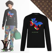 21SS【ルイヴィトン】LIGNE - PULL COL ROND EN INTARSIA 2054