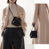 COS KNOTTED STRAP LEATHER BAG