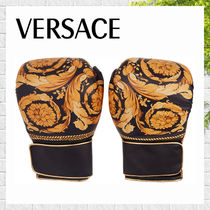 【VERSACE】バロック バイカラー ボクシンググローブ