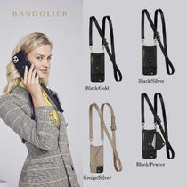 Bandolier★Hailey Side Slot Leather Crossbody*iPhone12も対応
