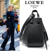 ∞∞ LOEWE ∞∞ Hammock small leather shoulder バッグ☆Black