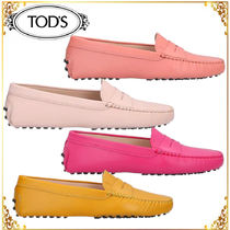 TODS◆関税送料込 レザーローファー 4color