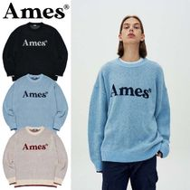 AMES★韓国スター着用★COLORED LOGO KNIT