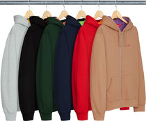 【送料関税込】Supreme Contrast Zip Up Hooded Sweatshirt