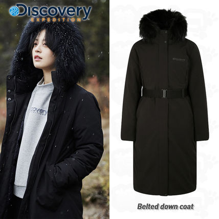 ★Discovery Expedition★Belted down coat