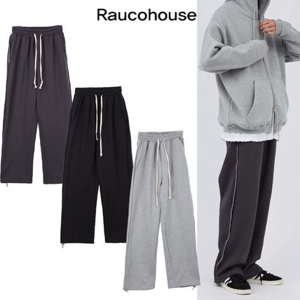 Raucohouse - SIDE INCISE WIDE SWEATPANTS