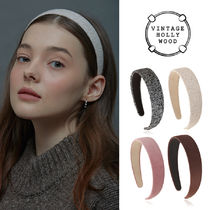 VINTAGE HOLLYWOOD★Carrie Wide Hairband_4color/ヘアバンド
