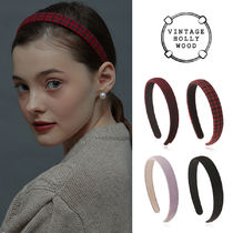 VINTAGE HOLLYWOOD★Carrie Slim Hairband_4color/ヘアバンド