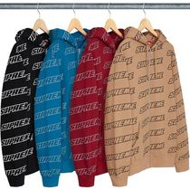 【送料関税込】Supreme Repeat Zip Up Hooded Sweatshirt