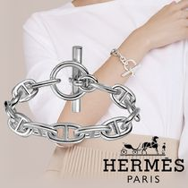 [HERMES] Chaine d'Ancre チェーン ブレスレット GM シルバー